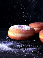 Donut with Sugaring